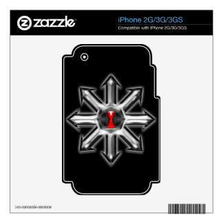 Arrows of Chaos - Black Widow Decal For The iPhone 3G