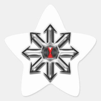 Arrows of Chaos - Black Widow Star Sticker