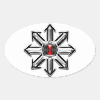 Arrows of Chaos - Black Widow Stickers