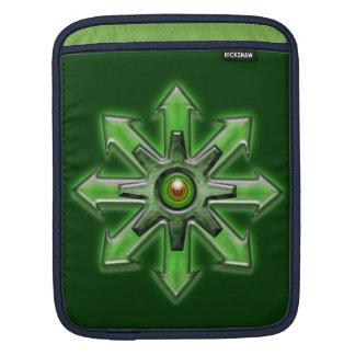 Arrows of Chaos - Green iPad Sleeves