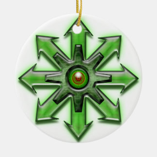 Arrows of Chaos - Green Ornament