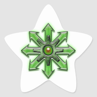 Arrows of Chaos - Green Star Sticker