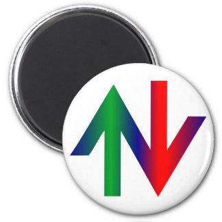 Arrows red green arrows talk green fridge magnets