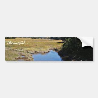 Arroyo de la cascada, pantano de Scarborough, (agu Pegatina Para Auto