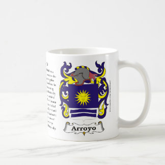 Arroyo, History, Meaning and the Crest Mug