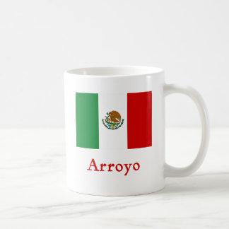 Arroyo Mexican Flag Coffee Mug