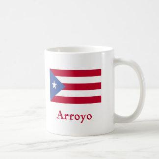 Arroyo Puerto Rican Flag Coffee Mug