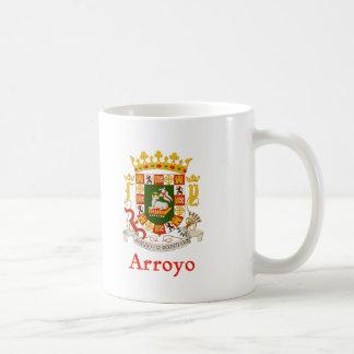 Arroyo Puerto Rico Shield Coffee Mug