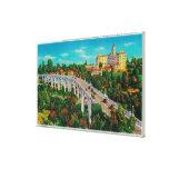 Arroyo Seco Bridge, Colorado Street Bridge Canvas Print