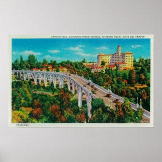 Arroyo Seco Bridge Colorado Street Bridge Posters