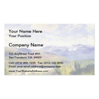 Arroyo Seco by Guy Rose Business Cards