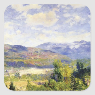Arroyo Seco by Guy Rose Square Sticker