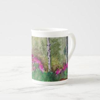 Arroyos de Kim del artista de la taza de la porcel Tazas De China