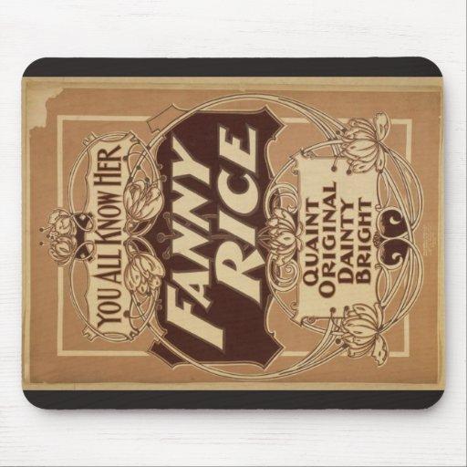 Arroz de Fanny, 'Bright delicado original pintores Mouse Pad