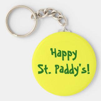 ¡Arroz feliz del St.! El llavero de St Patrick