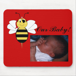 Arrr!Bee Bumble Bee Baby Picture Mousepad