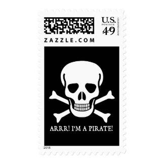 Arrr! I'm a Pirate! Postage