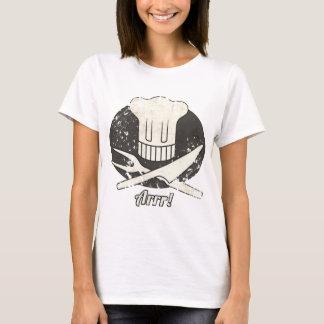 Arrr Pirate Chef Vintage T-Shirt