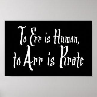 Arrr Pirate Print