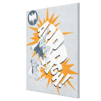 ARRRGH Batman y gráfico de la subida del petirrojo Impresiones De Lienzo