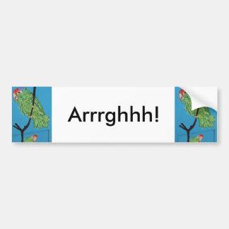 arrrghhh parrot bumper sticker