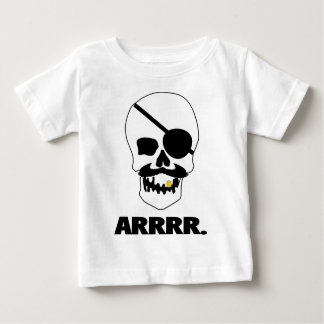 ARRRR! Pirate Skull Baby T-Shirt