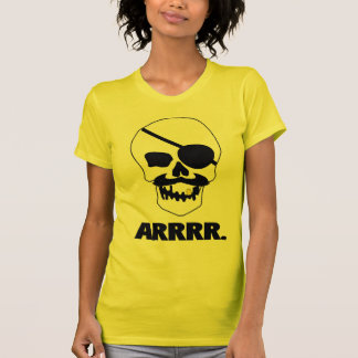 ARRRR! Pirate Skull Tees