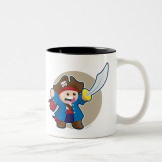 Arrrr! Two-Tone Coffee Mug
