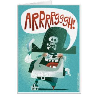 Arrrrgggh! Card