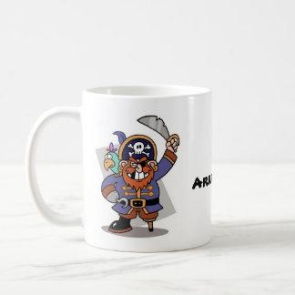 ¡Arrrrgh! Taza del pirata