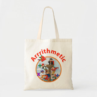 Arrrrithmetic Tote Bag