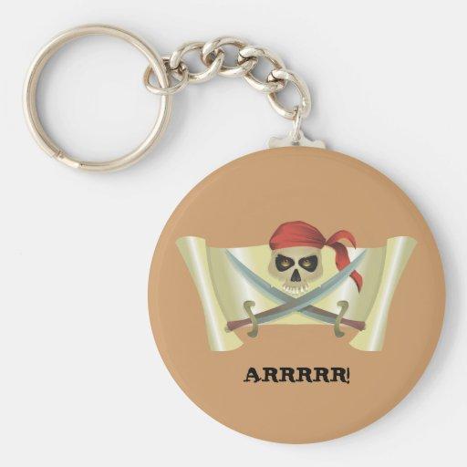 ARRRRR! Pirate Keychain