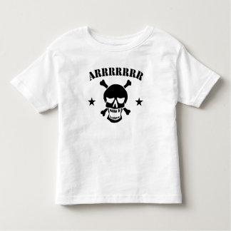 Arrrrr Pirate Skull Toddler T-shirt