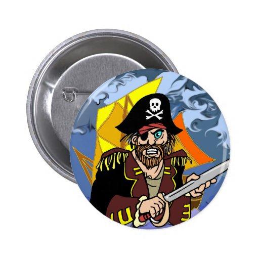 Arrrrr Talk like a pirate day 2 Inch Round Button