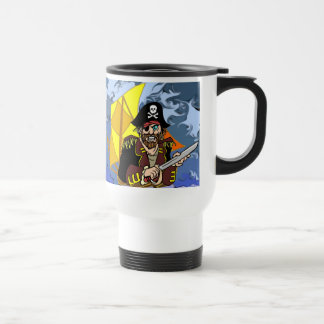 Arrrrr Talk like a pirate day 15 Oz Stainless Steel Travel Mug