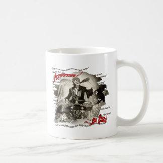 Arrrrrr me Rum (drinking  mug) Classic White Coffee Mug