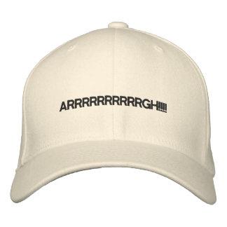 ARRRRRRRRRRGH!!!! EMBROIDERED BASEBALL CAP