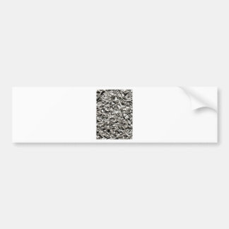 Arruga de aluminio pegatina para auto