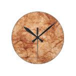 Arrugado Reloj De Pared