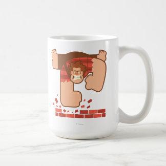 Arruínelo los ladrillos de la palpitación de taza de café