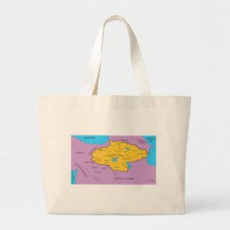 Arsacid / Arshakuni Dynasty Map Canvas Bag