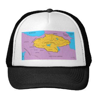 Arsacid / Arshakuni Dynasty Map Hats