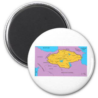 Arsacid / Arshakuni Dynasty Map Refrigerator Magnets