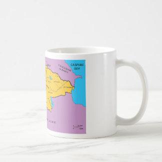 Arsacid / Arshakuni Dynasty Map Mug
