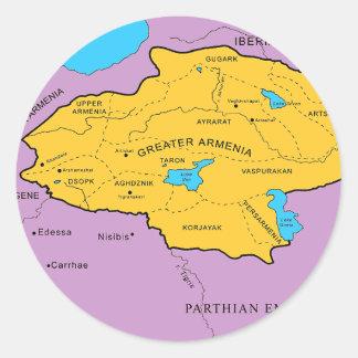 Arsacid / Arshakuni Dynasty Map Stickers
