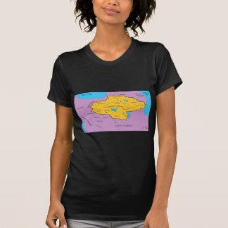 Arsacid / Arshakuni Dynasty Map Tee Shirt