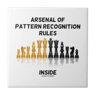 Arsenal de las reglas del reconocimiento de azulejo cuadrado pequeño