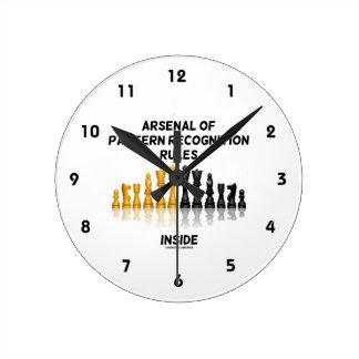 Arsenal de las reglas del reconocimiento de reloj redondo mediano