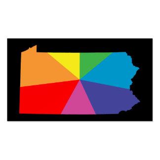 arsenal del arco iris de Pennsylvania Tarjetas De Visita