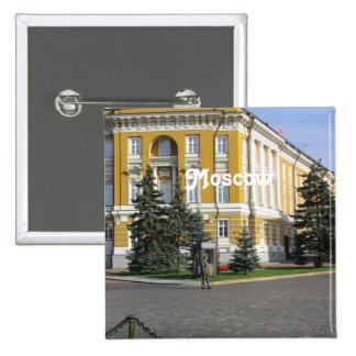 Arsenal del Kremlin Pin Cuadrada 5 Cm
